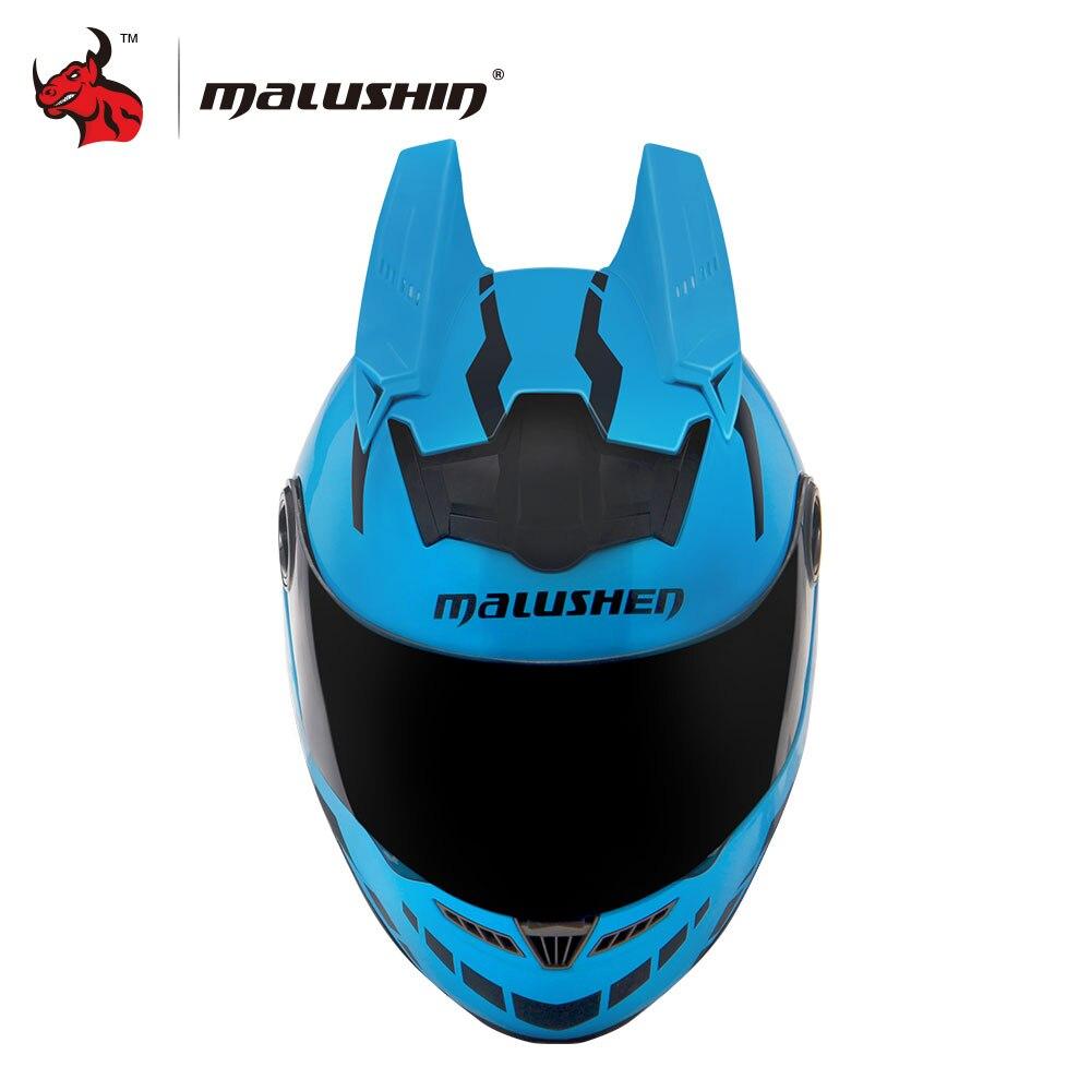 MALUSHUN Moto Casco Capacetes Motociclismo Flip Up Individualità Casco Moto Casco Da Corsa Cintura Novità Casque Moto