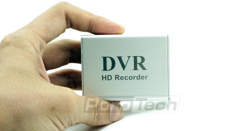 1 Kanal Mini CCTV DVR Unterstützung Sd-karte echtzeit Xbox HD Mini 1Ch DVR Bord Mpeg-4-videokompression