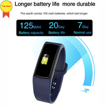Smart Bluetooth Band Heart Rate Pedometer Sleep Monitor Fitness Activity Tracker Wearable Device Smartwatch Time Bracelet fo IOS цена
