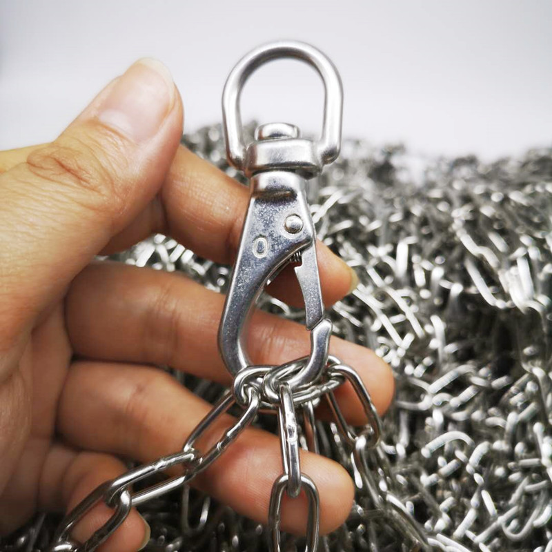 304  Diameter 2mm  Stainless Steel Link Chain