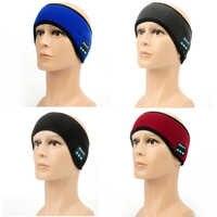 Sport Earphone Bluetooth Music Running Headband Wireless Headphones Eye Mask Hands-free Built-in Speakders