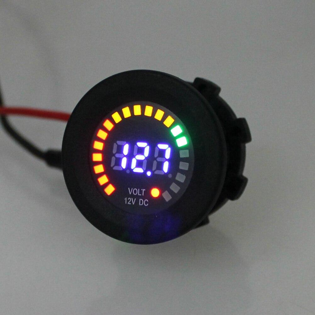 12V LED Digitale Voltometro Display per Macchina Auto Motociclo Pannello