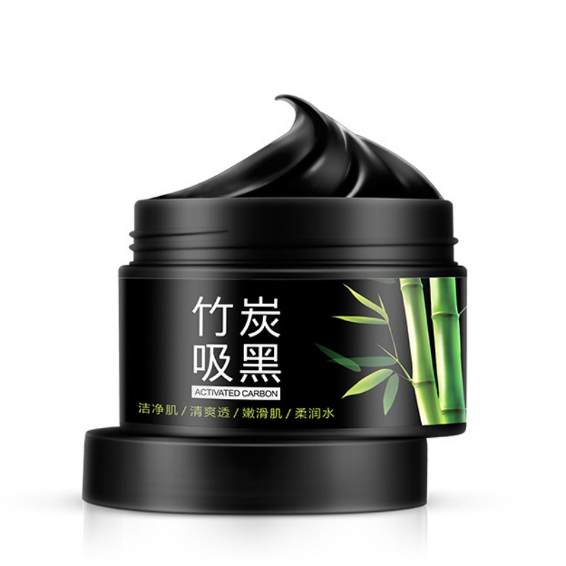 Bamboo Charcoal Acne Mask Oily Skin: Skin Care Black Mask Cleansing Moisturizer Facial Mask