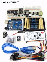 Robotale Starter Kit With UNO R3 MEGA328P 830 Holes Breadboard Basics Of Using The New