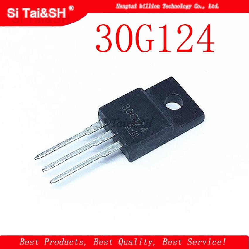 5pcs/lot 30F124 30G124 TO220F