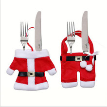 Fightinpc Xmas Suit Pants Tableware Cases