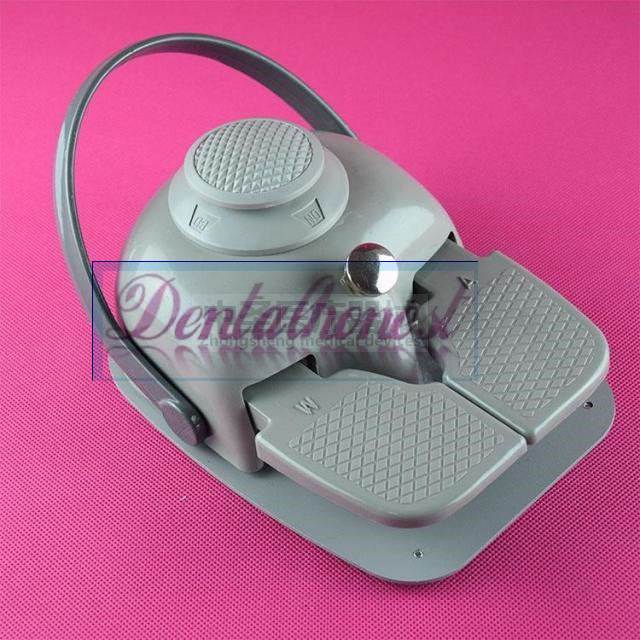 Dental Foot Control Pedal with Tube Cable for Dental Equipment Standard Dental Chair Dental 1 pieces dental equipment rotatable single tube dental gas light bunsen burner alone duct gas lights for dental laboratory