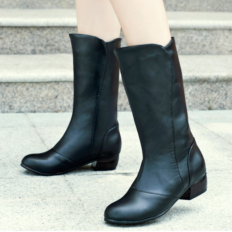 2017 Sale Boots Botas Mujer Shoes Women Boots Fashion Motocicleta Mulheres Martin Outono Inverno Botas De Couro Femininas 6-1 shoes woman fashion motocicleta mulheres martin outono inverno botas de couro boots femininas botas women boots canvas 9302