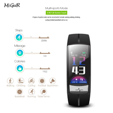 MiGueR smart watch man QS03 sports smart watch IP67 waterproof heart rate information reminder connection android watch French