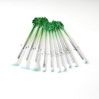 10 Pcs Full Styel Lucky Fish Makeup Brushes Set Foundation Powder Contour Eye Blending Make Up