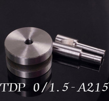 New A215 Stamp Die Mold Die Punching for Tablet Press Machine TDP-0/1.5 Free Shipping