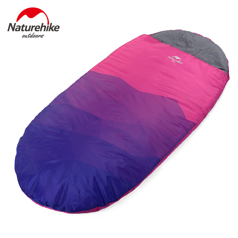 Naturehike Adult Outdoor camping sleeping bag warm Winter Sleeping Bag indoor lunch break single person portable sleeping bags цены