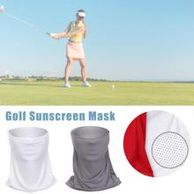 New Golf Sunscreen Collar Ice Silk Stretch Breathable Masks Sun Protection Skin Care Face Sweat-absorbent