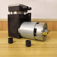 DC 45W 85kpa electric mini vacuum Pump 12v 24v piston vacuum air pump/Piston pump