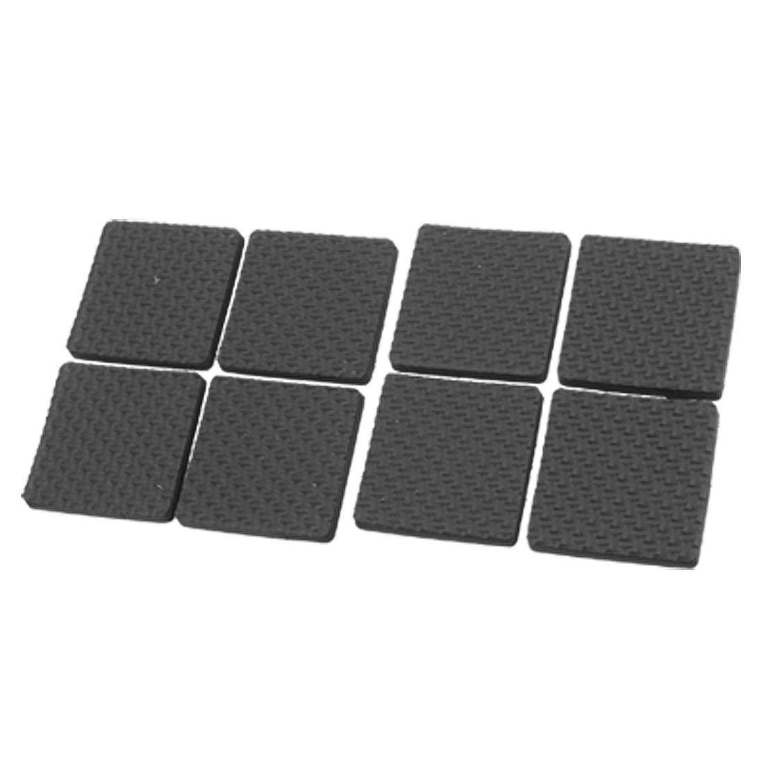 FLST Black Protective Furniture Table Chair Foot Square PadFLST Black Protective Furniture Table Chair Foot Square Pad