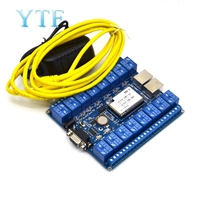 16 channel Network control relay switches P2P WIFI module 16 relay remote control mobile control for arduino