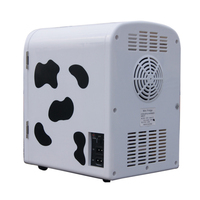 4L cute Small Portable Low power consumption Milk Storage Dedicated Car fridge Can Be Heated for car for kitchen