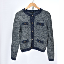 High quality womens knitted coat 2019 autumn O-neck jackets A582