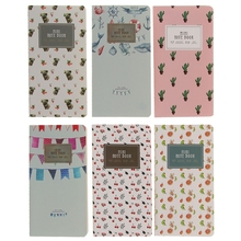 Monthly Planner Mini Diary Notebook Monthly Planner Paper Journal Travel Planner Notepad 48 Page qiang 100% high quality travelers notebook fiiler paper 3 types page paper 3 size page paper for travel notebook change school supplie