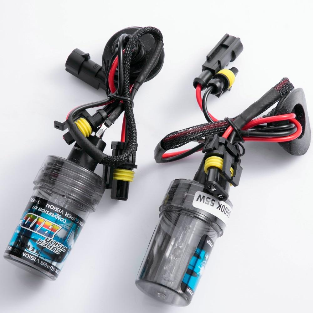 2pcs HID Xenon Bulb 35w 55w 3000k 4300k 6000k 8000k 10000k 12000k H1 H3 H7 H11 HB3 HB4 H27 D2S 9012 880 881 H4 D2H Car Headlight
