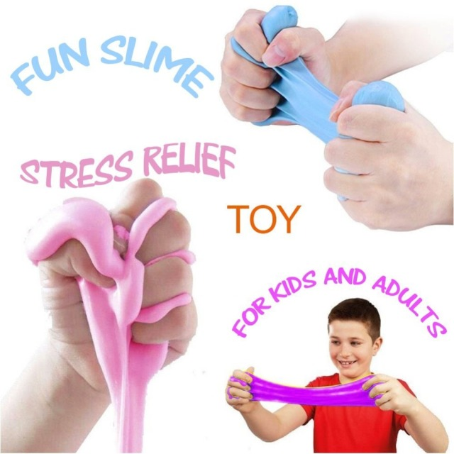 Stress Relief DIY Fluffy Slime (High Quality)