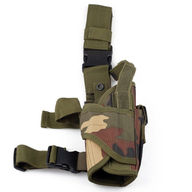 Tactical Tornado Leg Holster Glock Airsoft Pistol Gun Drop Leg Holster Pouch Adjustable Magic Strap Holster For Universal Gun  4