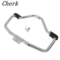 New Chrome Motorcycle Mustache Highway Engine Guard Crash Bar For Harley Sportster XL 1200 883 04
