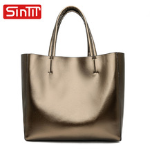 SINTIR Brand Casual Large Capacity Women Handbags Vintage Soft PU Leather Women Shoulder Bags Fashion Big Shopping Travel Bag