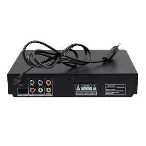 Image 3 - LONPOO yeni DVD OYNATICI taşınabilir USB 2.0 DVD OYNATICI multimedya dijital DVD TV desteği HDMI fonksiyonu siyah