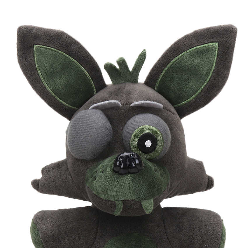 ใหม่ 25 ซม.FNAF Nightmare Freddy Bear FOXY Springtrap BONNIE Plush ของเล่น FIVE Nights ที่ Freddy's ของเล่นตุ๊กตาตุ๊กตาสัตว์