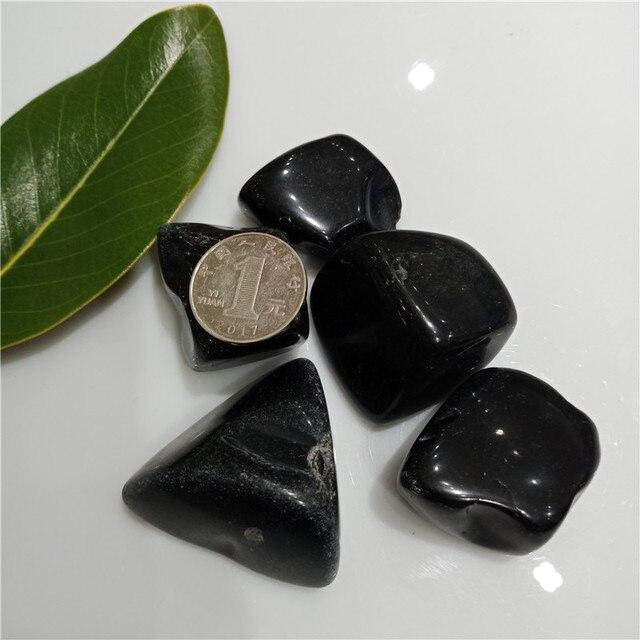 Pierres Véritables Jade Noir 3
