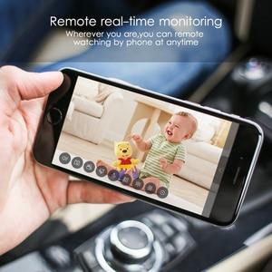 Image 2 - كاميرا Marlboze IP تعمل بالواي فاي بدقة 1080 بكسل عالية الوضوح مع خاصية كشف الحركة والرؤية الليلية كاميرا تسجيل صغيرة لبطاقة TF كاميرا أمان مدمجة للبطارية