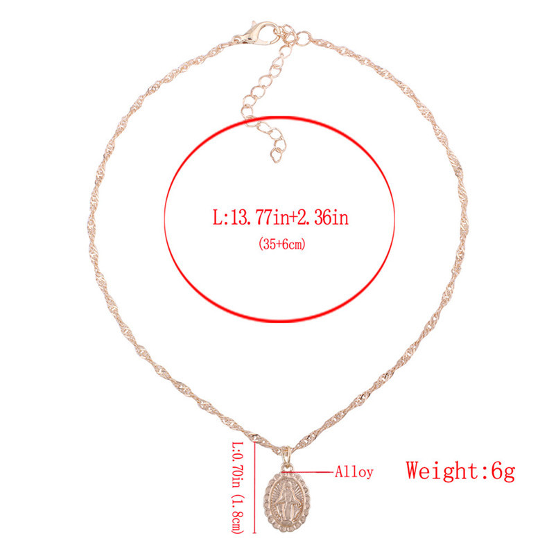 New Arrival Fashion chokers necklaces for women Double layer Chunky Jewelry necklace Pendant Neck accessories Collier A08#N (5)