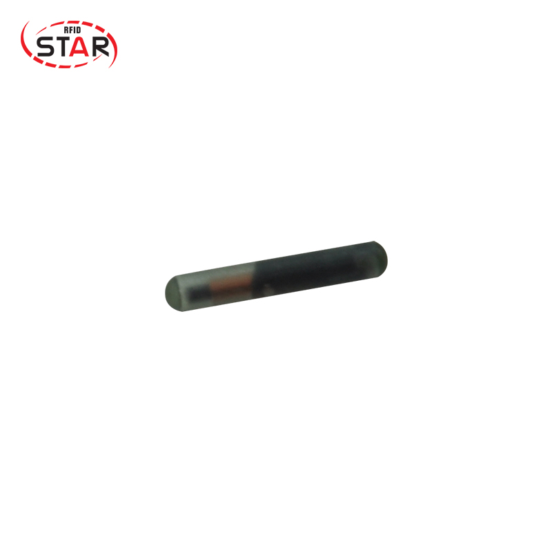 Star 200pcs RFID Animal Glass Tube Tags 134.2KHz FDX-B 1.4*8mm Pet Identification Microchips, ISO Cattle Cat Fish Chip
