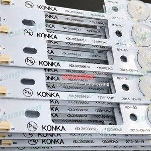 Image 2 - Yeni 100 adet LED arka ışık çubuğu KONKA KDL39SS662U 35018339 35018340 327mm 4 LEDs( 1 LED 6V) yüksek kalite ücretsiz kargo