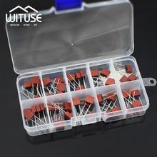 TSLEEN 100 шт 10 цветов, миниатюрный предохранитель твердотельный накопитель квадратная форма для 392 0.5A 1A 1.25A 1.6A 2.5A 3.15A 4A 5A 6.3A 250V ЖК-дисплей ТВ Мощность