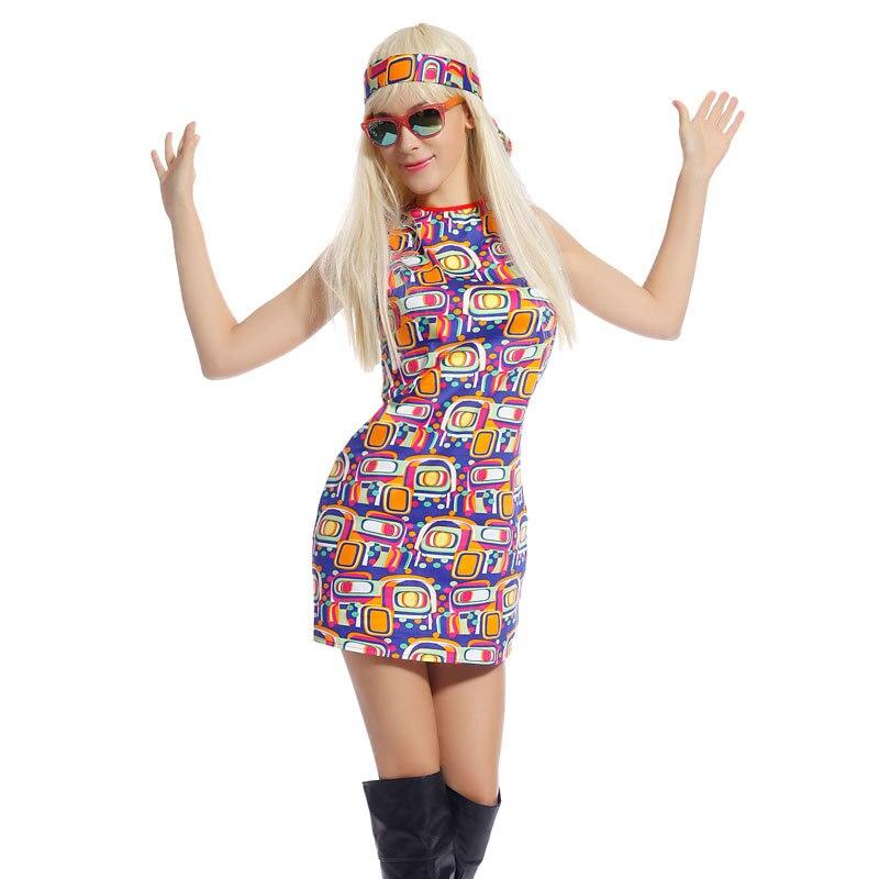 disfraces mujer de los 70