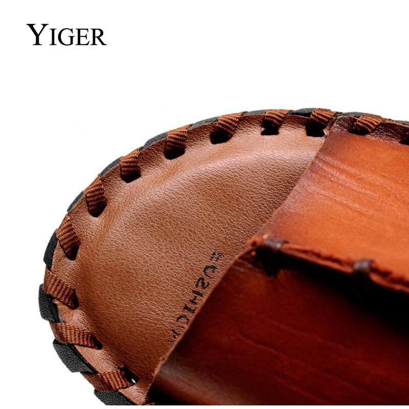 YIGER NEW Տղամարդու սանդալներ կոշիկ - Տղամարդկանց կոշիկներ - Լուսանկար 2