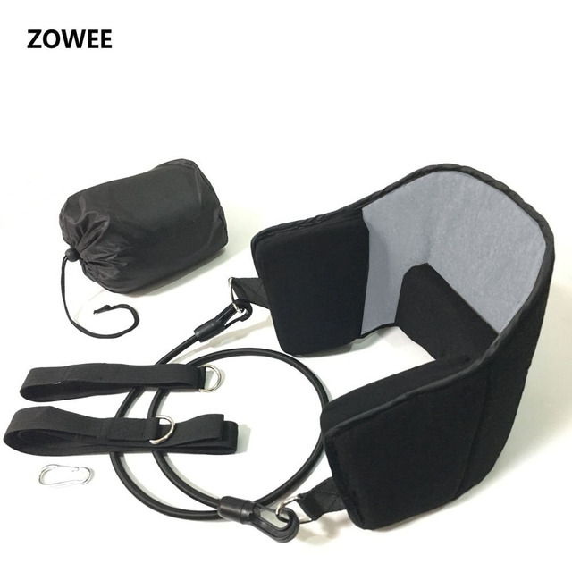 Zowee fashion portable Neck Pain Relief relaxing Hammock neck Massager foam napping sleeping pillow cushion For Home Office