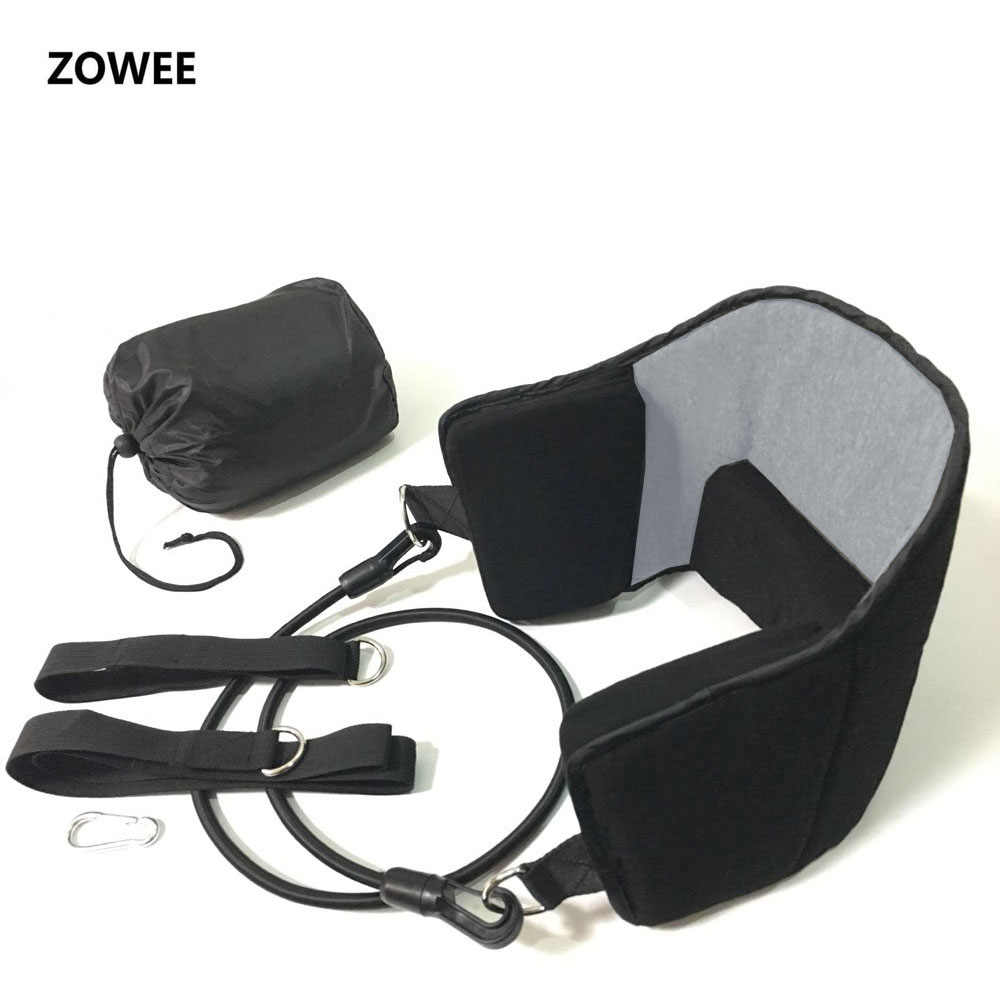 Zowee модный портативный облегчение боли в шее расслабляющий гамак массажер для шеи пена подгузник подушка для сна подушка для домашнего офиса