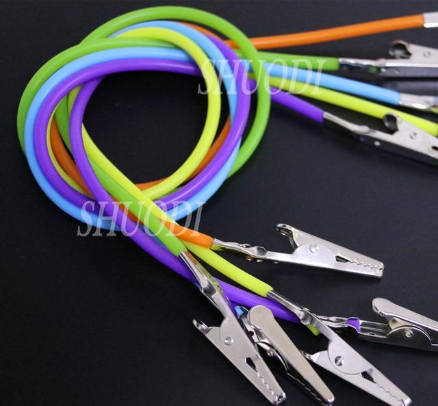 5 piezas Instrumentos dentales babero Clips cadena servilletero Autoclavable Goma