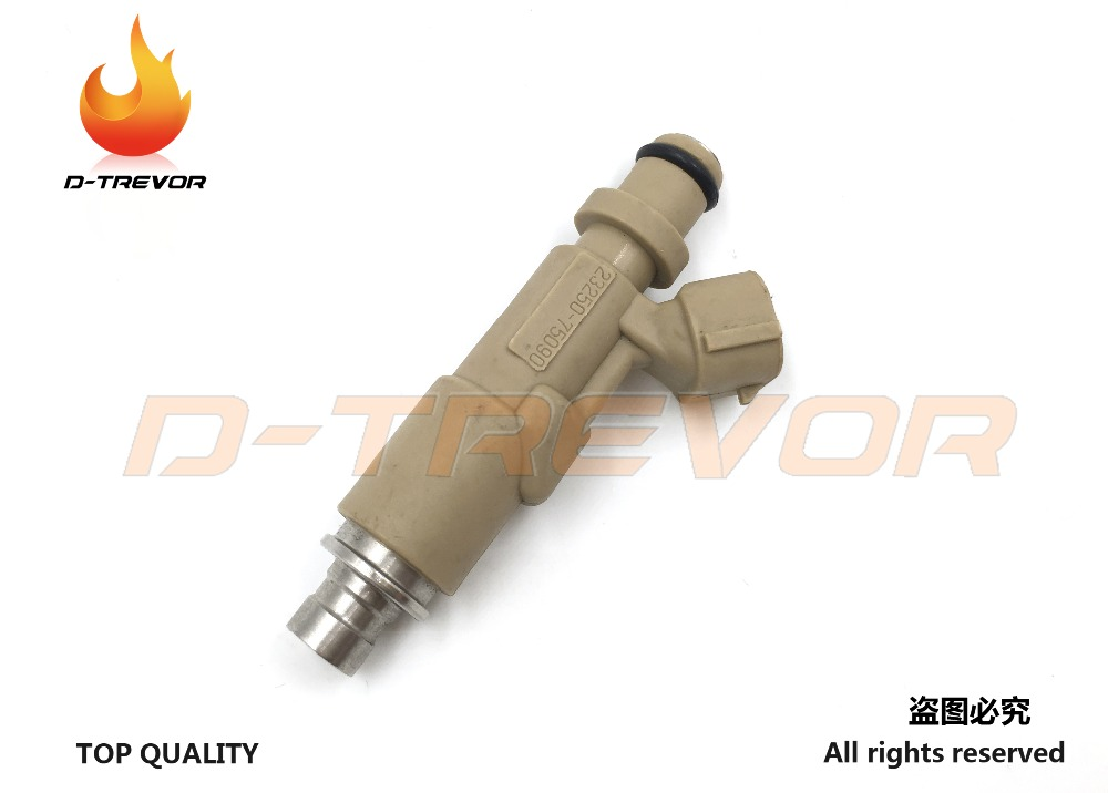 1 Pcs Brandstof Injector 23250-75090 Voor Toyota Coaster Hilux Land Cruiser 23209-79145 Zacht En Licht