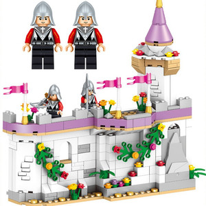 Image 4 - New  Friends  Windsors Castle And Carriage DIY Model Building Blocks Kit Toys Girl Birthday  Christmas Gifts