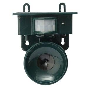 Image 4 - Ультразвуковой отпугиватель птиц на солнечных батареях с пассивным ИК датчиком движения, Репеллент для животных, отпугиватель птиц для защиты дома и сада