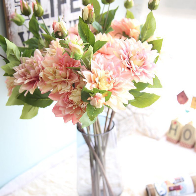 Www Afloral Com Silk Wedding Flowers: Aliexpress.com : Buy Silk Flower Wedding Bouquet Peony