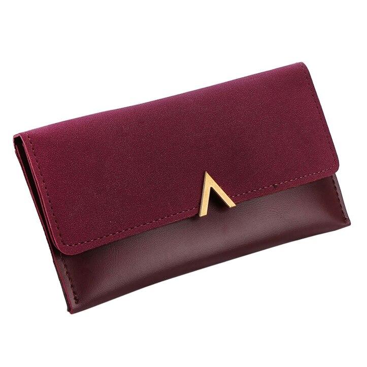 Women Wallets Brand V Lady Handbags Moneybags Zipper Coin Purse Woman Envelope Wallet Money Cards ID Holder Bags Purses Pocket wallet