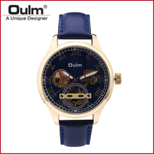 HP3621 Men Watch Fashion Casual Style Mechanical Wristwatches Oulm Brand Factory Outlet Watches Alloy Case 3Bar