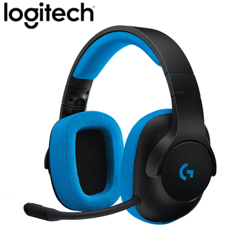 Original Logitech G233 Prodigy Gaming Headset Wired Control With Mic for PC, PS4/PRO, Xbox One, Xbox One S, Nintendo Switch
