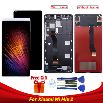 For Xiaomi Mi Mix 2 LCD Display+Touch ScAreen Assembly 5.99 inch Mobile Tools Glass Panel Sensor