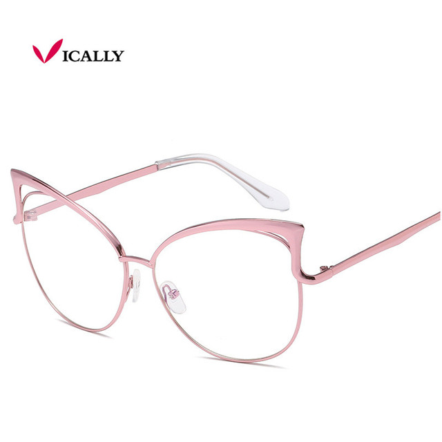 1bed780bb3 2017 New Women Eyeglasses Classic Brand Designer Fashion Luxury Cat Eye  Glasses Frames Trendy Vintage oculos de grau